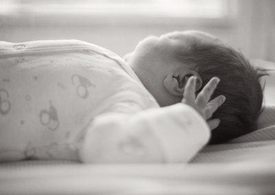 newborn girl after birth